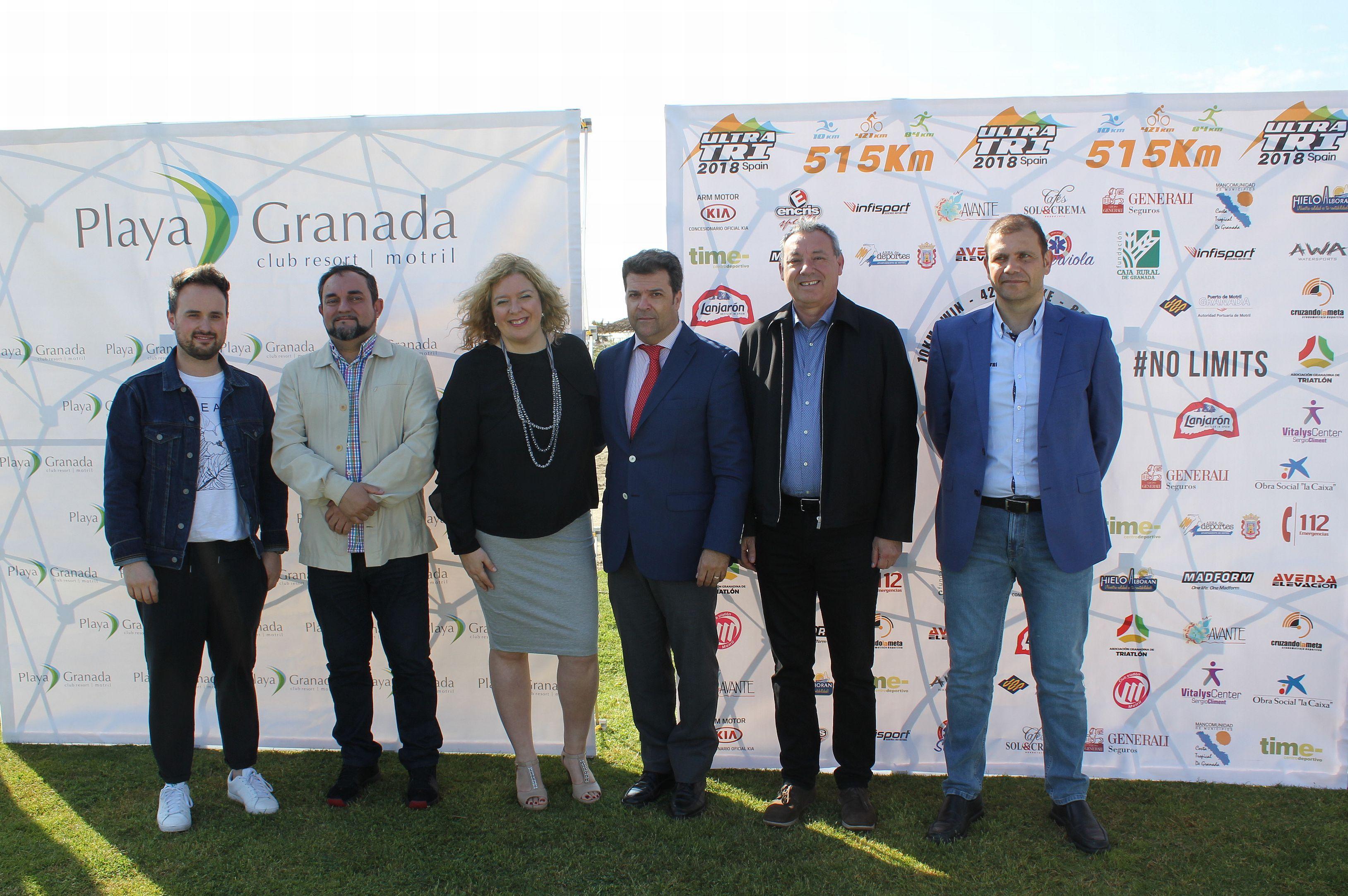 Presentación del Ultra Tri Spain en Motril (Foto: El Faro)