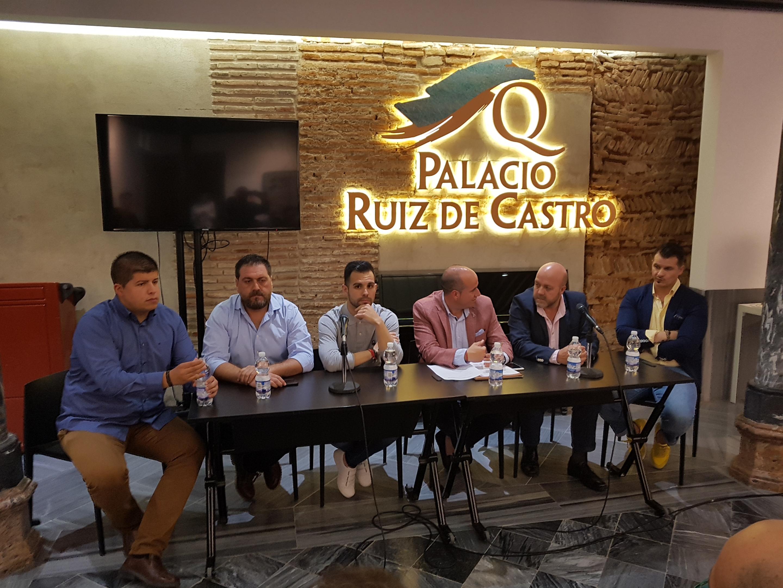 INTERVINIENTES EN LA TERTULIA EL PERTIGUERO (Foto: El Faro)