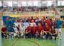 FOTO DE FAMILIA DE AUTORIDADES Y LOS DOS EQUIPOS (Foto: El Faro)