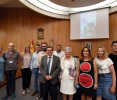 ENCUENTRO CON LAS AUTORIDADES DE LA DIPUTACIÓN DE GRANADA (Foto: El Faro)