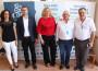 LAS AUTORIDADES JUNTO AL RESPONSABLE DE SEMILLEROS SALIPLANT (Foto: El Faro)