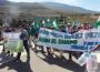 MARCHA PIDIENDO AGUA Y CANALIZACIONES DE RULES (Foto: Archivo El Faro)