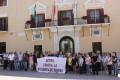 Minuto de silencio en Motril por la última víctima de violencia de género en Guadahortuna (Foto: El Faro)