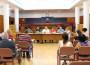 Momento de la Comisión local de Absentismo Escolar (Foto: El Faro)