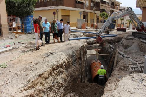 Actuación en la confluencia de la calle Ancha con la calle Santísimo (Foto: El Faro)