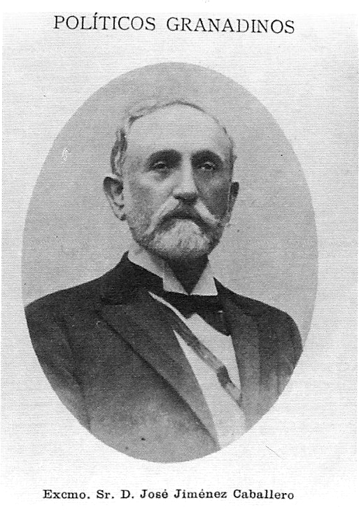 . José Jiménez Caballero. Uno de los políticos locales más influyentes del Motril de esta época