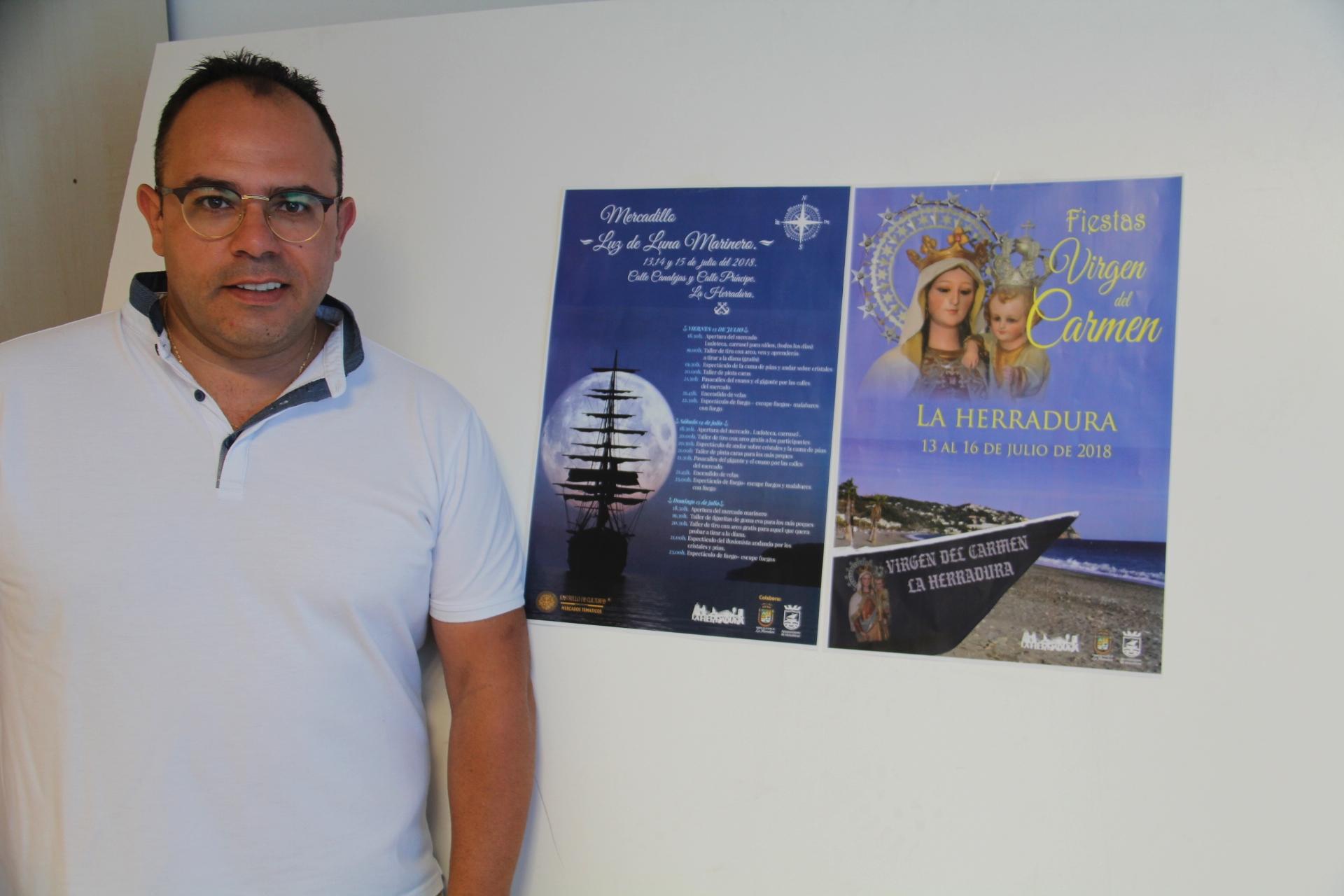 JUAN JOSE RUIZ JOYA TENIENTE ALCALDE LA HERRADURA (Foto: El Faro)