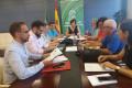 LA DELEGADA DEL GOBIERNO ANDALUZ EN GRANADA EN LA REUNIÓN MANTENIDA HOY (Foto: El Faro)