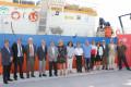 LAS AUTORIDADES, EN FOTO DE FAMILIA, EN EL PUERTO DE MOTRIL (Foto: El Faro)