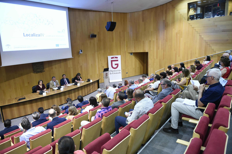 MOMENTO DE LA PRESENTACIÓN CON LA PRESENCIA DEL CONSEJERO (Foto: El Faro)