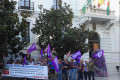 MOVILIZACIÓN DE LOS TRABAJADORES DE CERTURSA SIERRA NEVADA (Foto: El Faro)