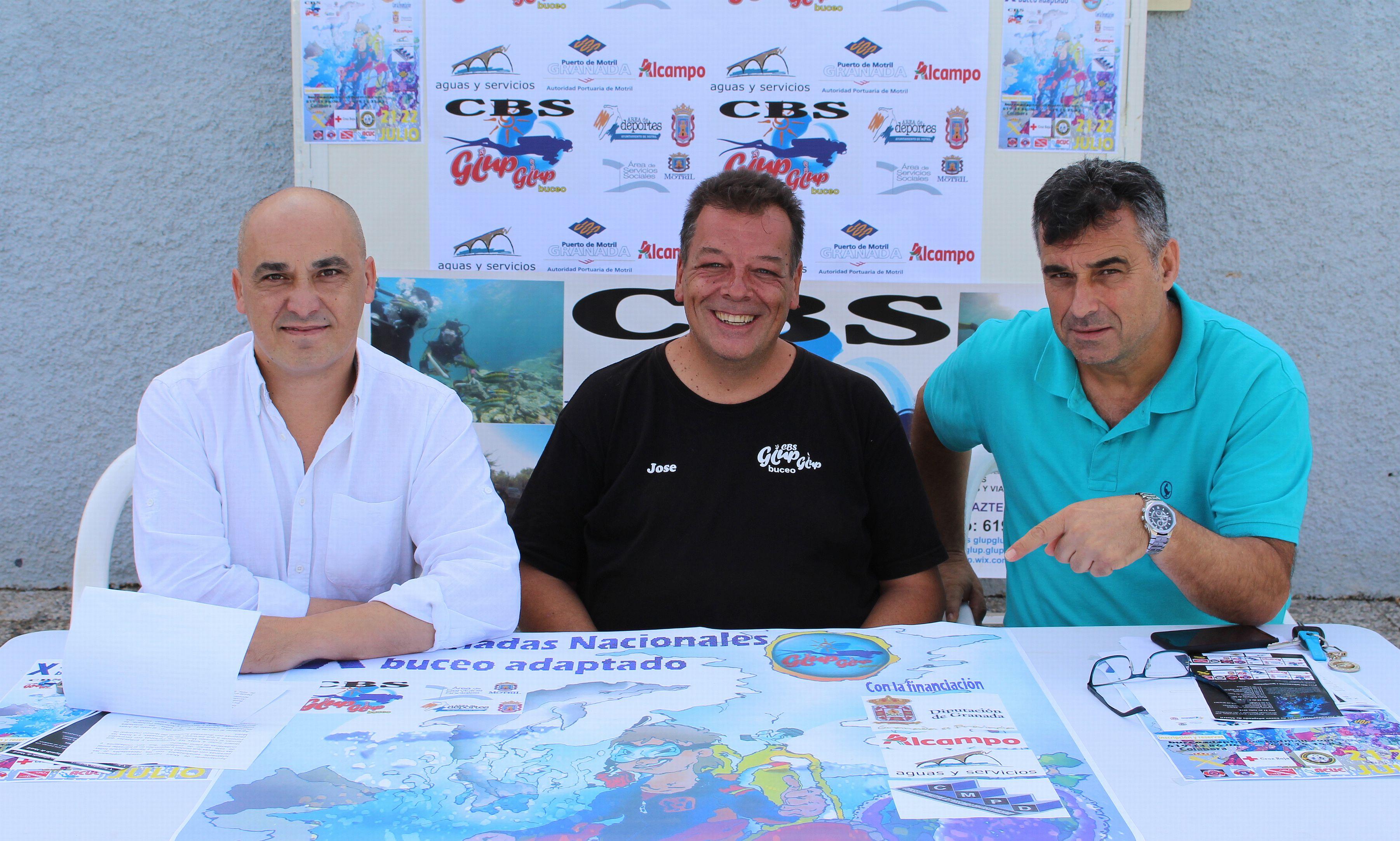 Presentación X Jornadas Nacionales de Buceo Adaptado (Foto: El Faro)