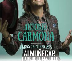 ESPECTÁCULO DE ANTONIO CARMONA EN ALMUÑÉCAR