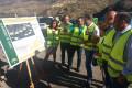 AUTORIDADES Y TÉCNICOS VISITAN LAS OBRAS EN LA CARRETERA A-348 DE LA ALPUJARRA (Foto: El Faro)