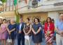AUTORIDADES Y VECINOS GUARDAN UN MINUTO DE SILENCIO A LAS PUERTAS DEL AYUNTAMIENTO DE DÚRCAL (Foto: El Faro)