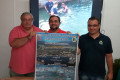 PRESENTACIÓN DE LA 79 EDICIÓN DE LA TRAVESÍA A NADO DEL PUERTO DE MOTRIL (Foto: El Faro)