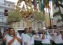 PROCESIÓN DE LA PATRONA DE ALMUÑÉCAR POR LAS CALLES DEL MUNICIPIO (Foto: Archivo El Faro)