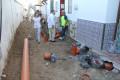 CONEXIONES EN LA CALLE LAS MORENAS EN SU SEGUNDA FASE (Foto: El Faro)