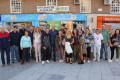 El concejal Gregorio Morales con el personal y usuarios de FAISEM en Motril (Foto: El Faro)