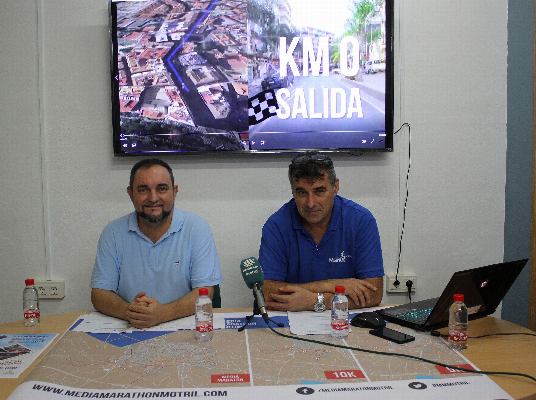 Miguel Ángel Muñoz (izq) y Emilio García, en rueda de prensa (Foto: El Faro)
