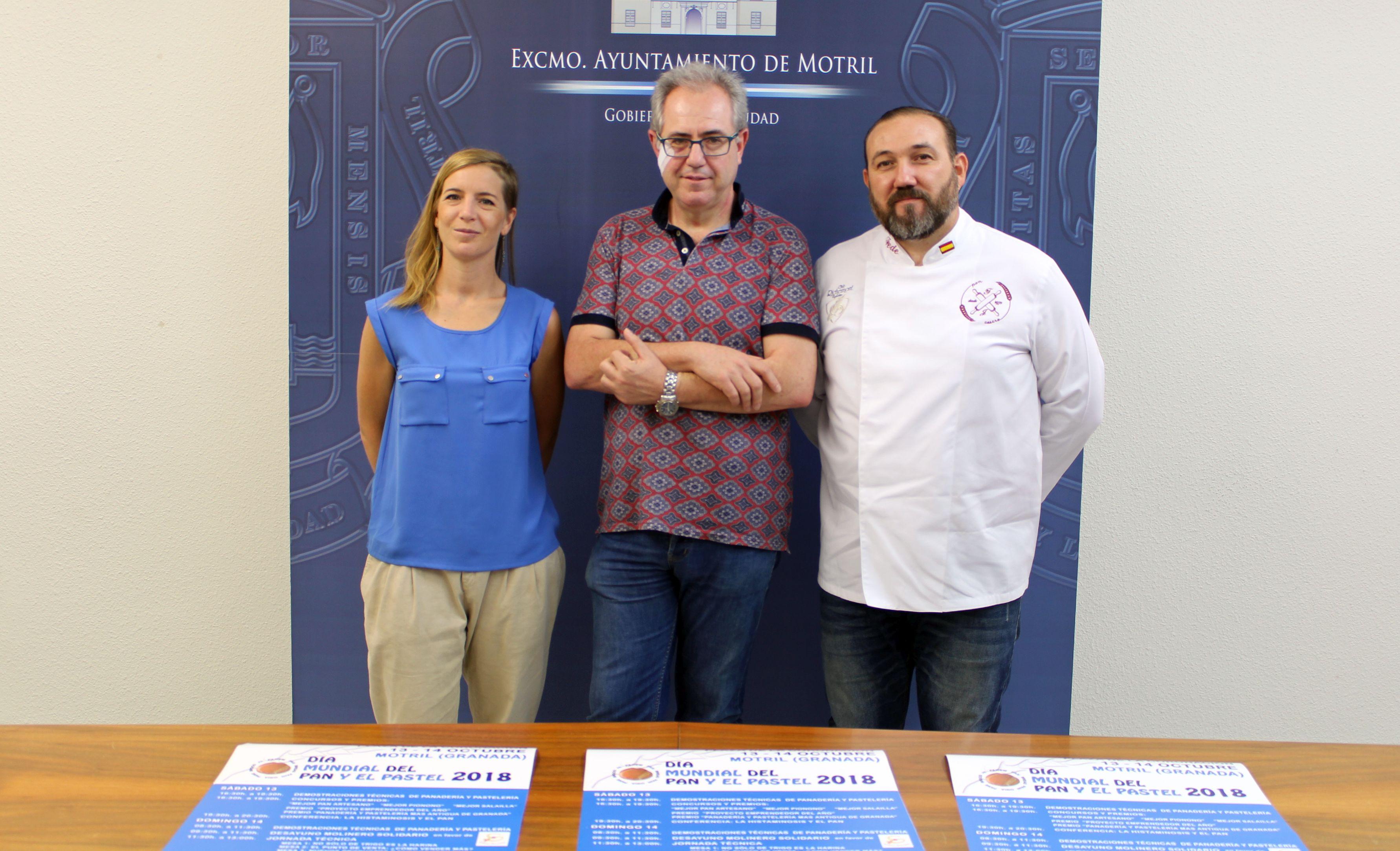 Presentación de los actos del Día Mundial del Pan y el Pastel (Foto: El Faro)
