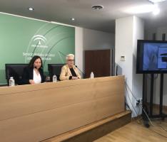 UN MOMENTO DE LA PRESENTACIÓN DE LA CAMPAÑA DE VACUNACIÓN A LA POBLACIÓN DE RIESGO (Foto: El Faro)