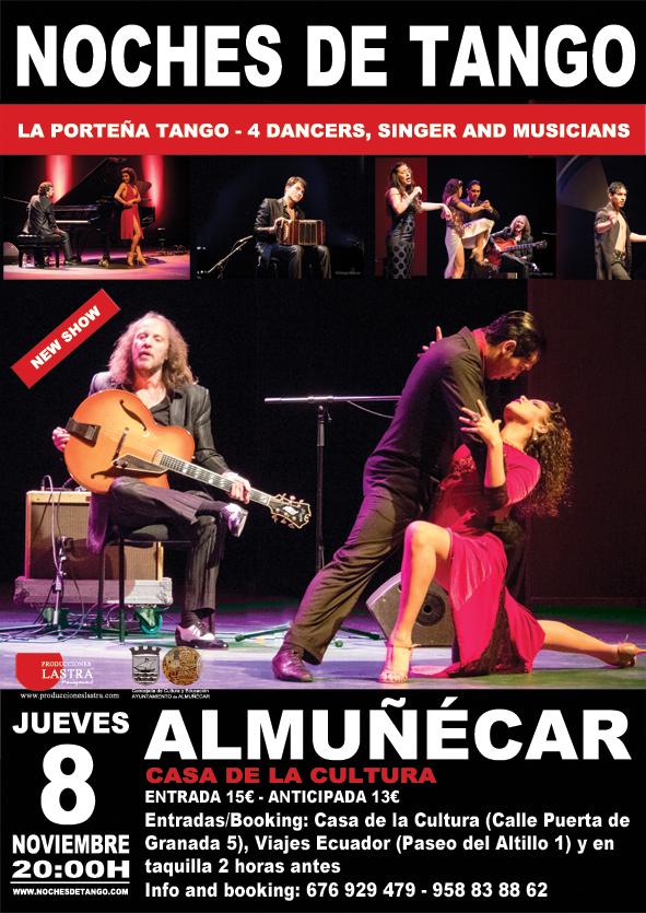 8 de noviembre, Tango en Almuñécar