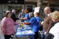 Toma de niveles de glucosa a la ciudadanía en Motril en el Día Mundial de la Diabetes (Foto: El Faro)