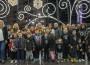 Foto de familia tras el encendido del alumbrado de Navidad en Motril