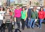 Foto de familia tras la lectura del manifiesto en la XIII Feria de Asociaciones y ONG