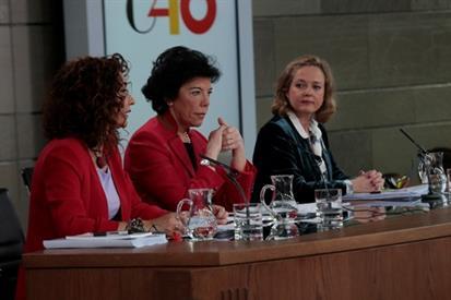 COMPARECENCIA DE LA PORTAVOZ DEL GOBIERNO TRAS EL CONSEJO DE MINISTROS