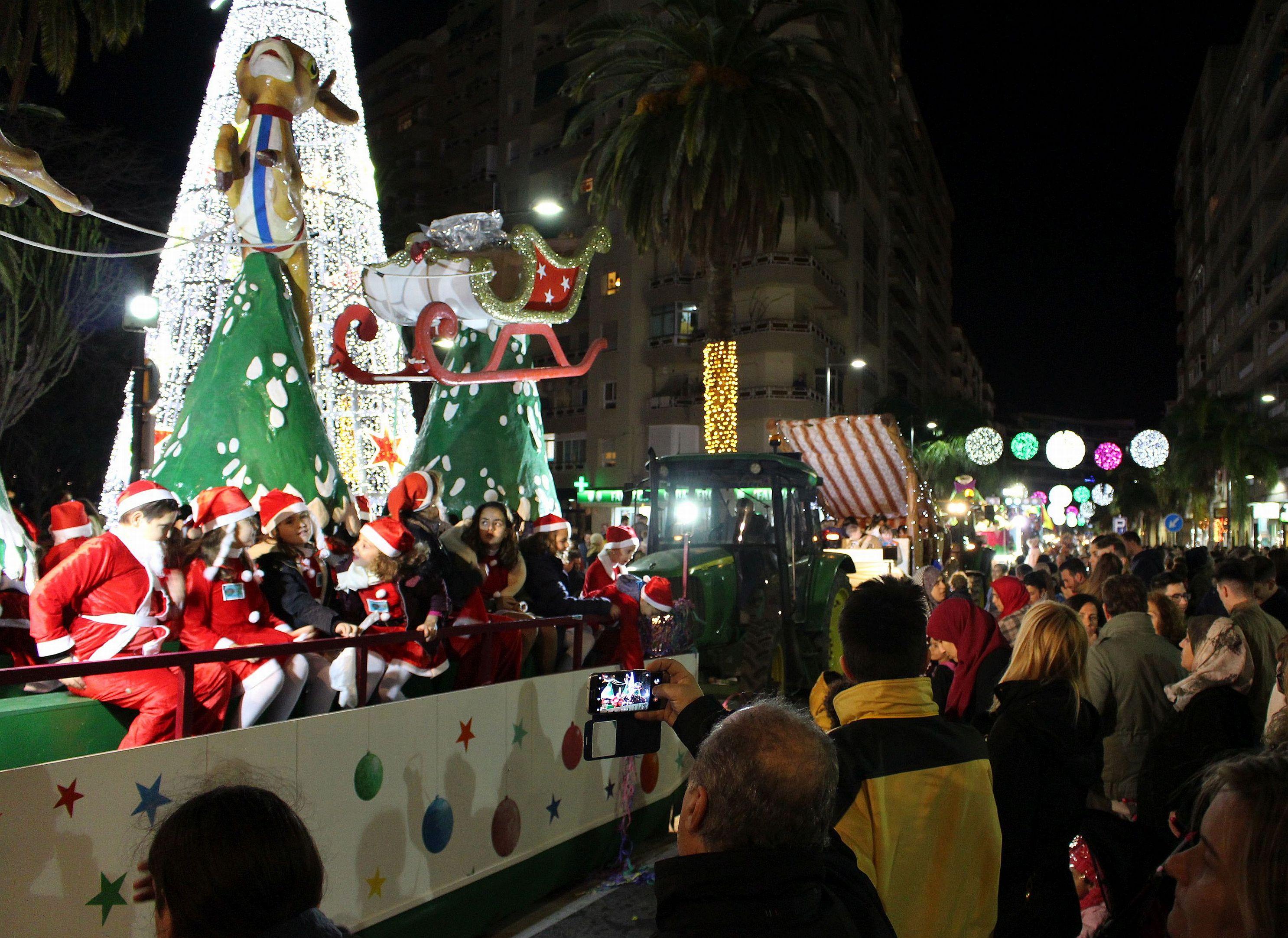 Foto de archivo 2018 de una carroza de la Cabalgata de los Reyes Magos