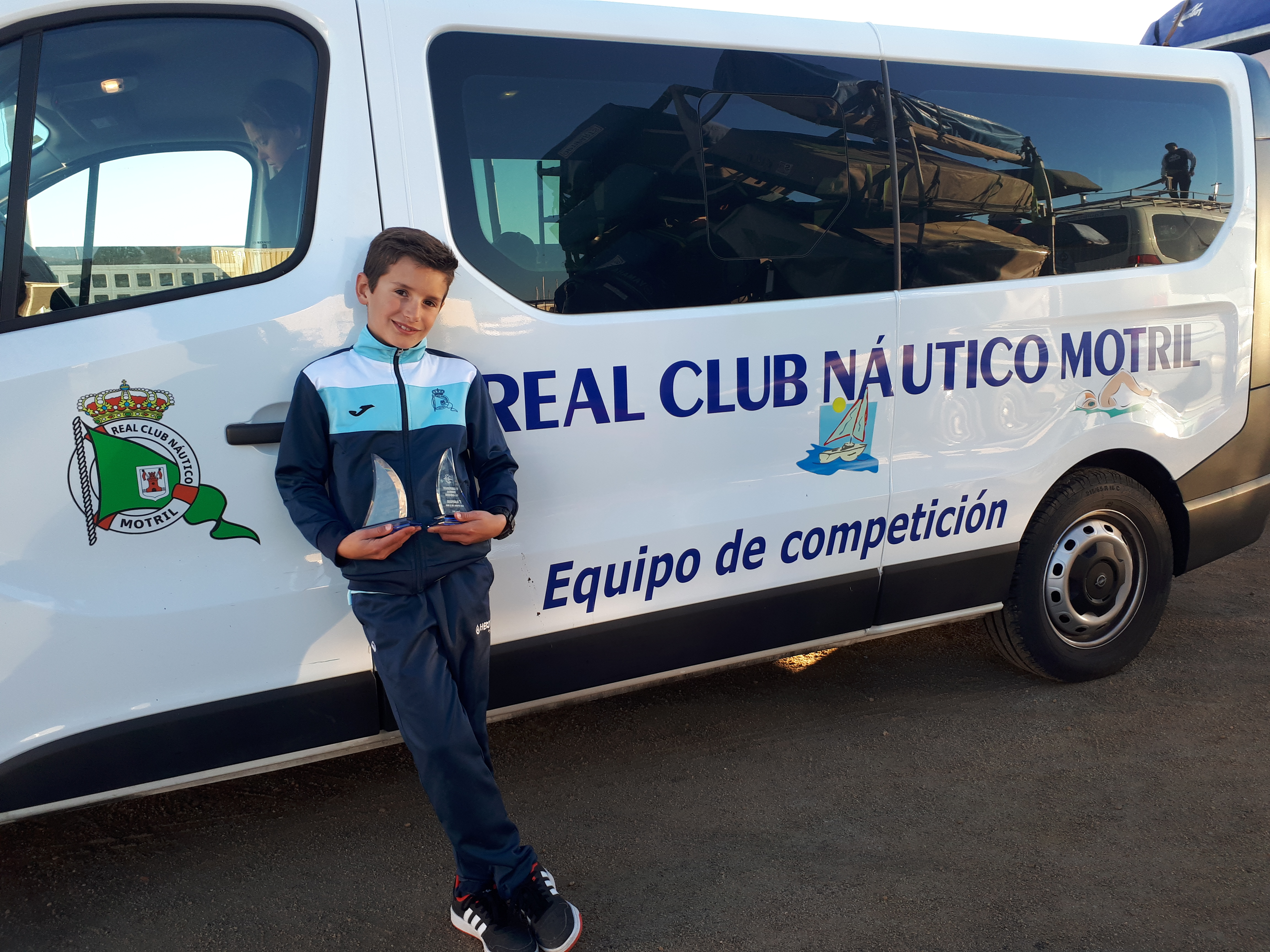JAVIER BALLESTEROS LÓPEZ, DEL REAL CLUB NÁUTICO DE MOTRIL