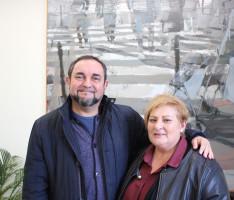 Los concejales de Consumo, Miguel Ángel Muñoz, y Comercio, Susana Feixas, de Motril