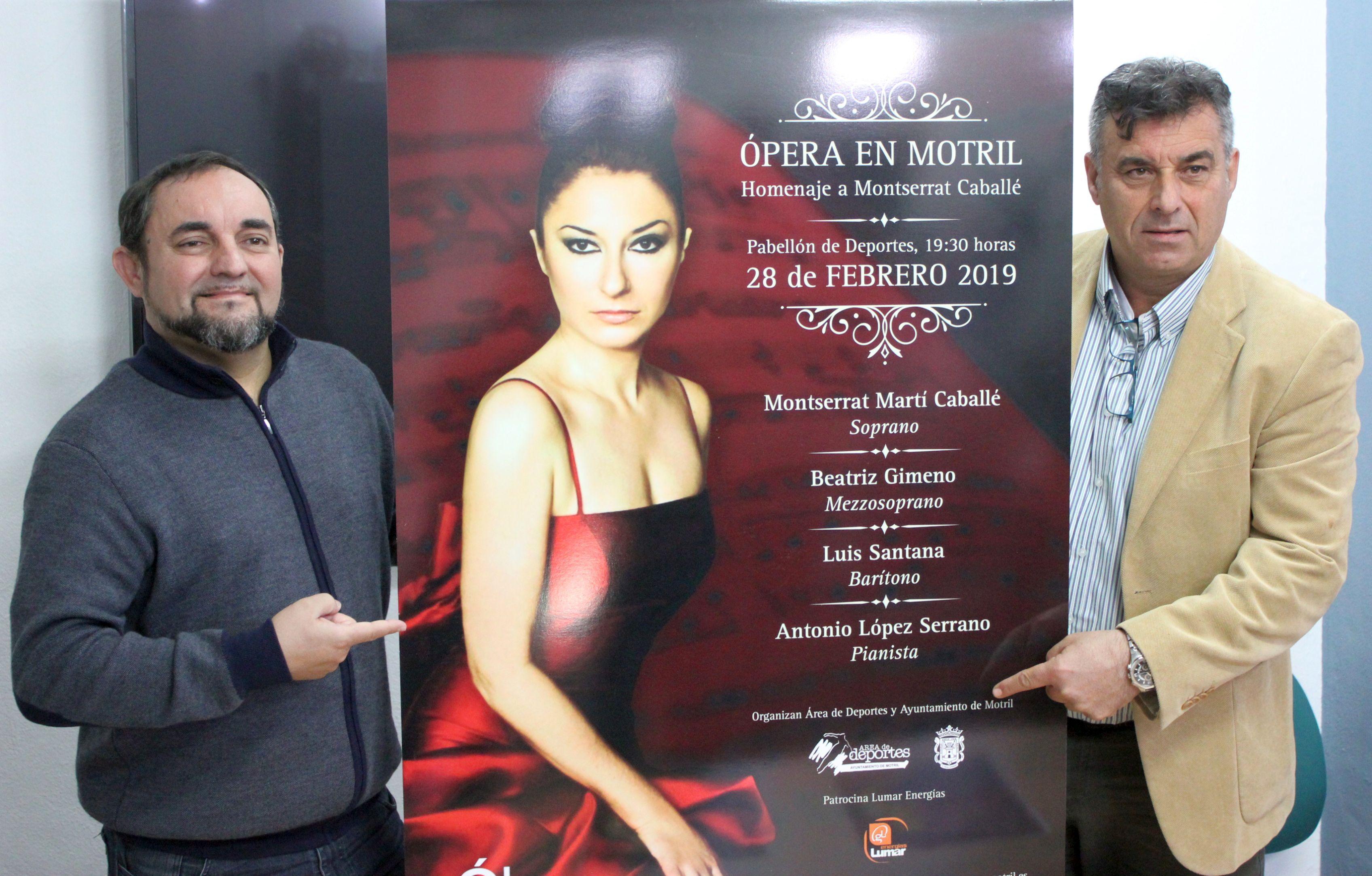 Presentación del concierto homenaje a Montserrat Caballé