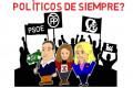 Fotograma vídeo vieja política