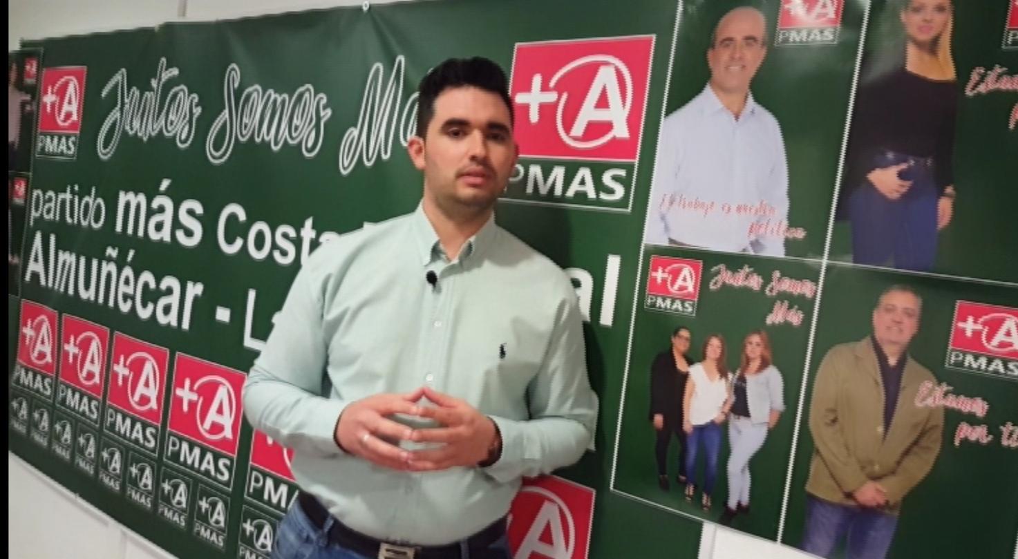 JAVIER GARCÍA, DE MÁS ALMUÑÉCAR-LA HERRADURA, CANDIDATO NÚMERO 1