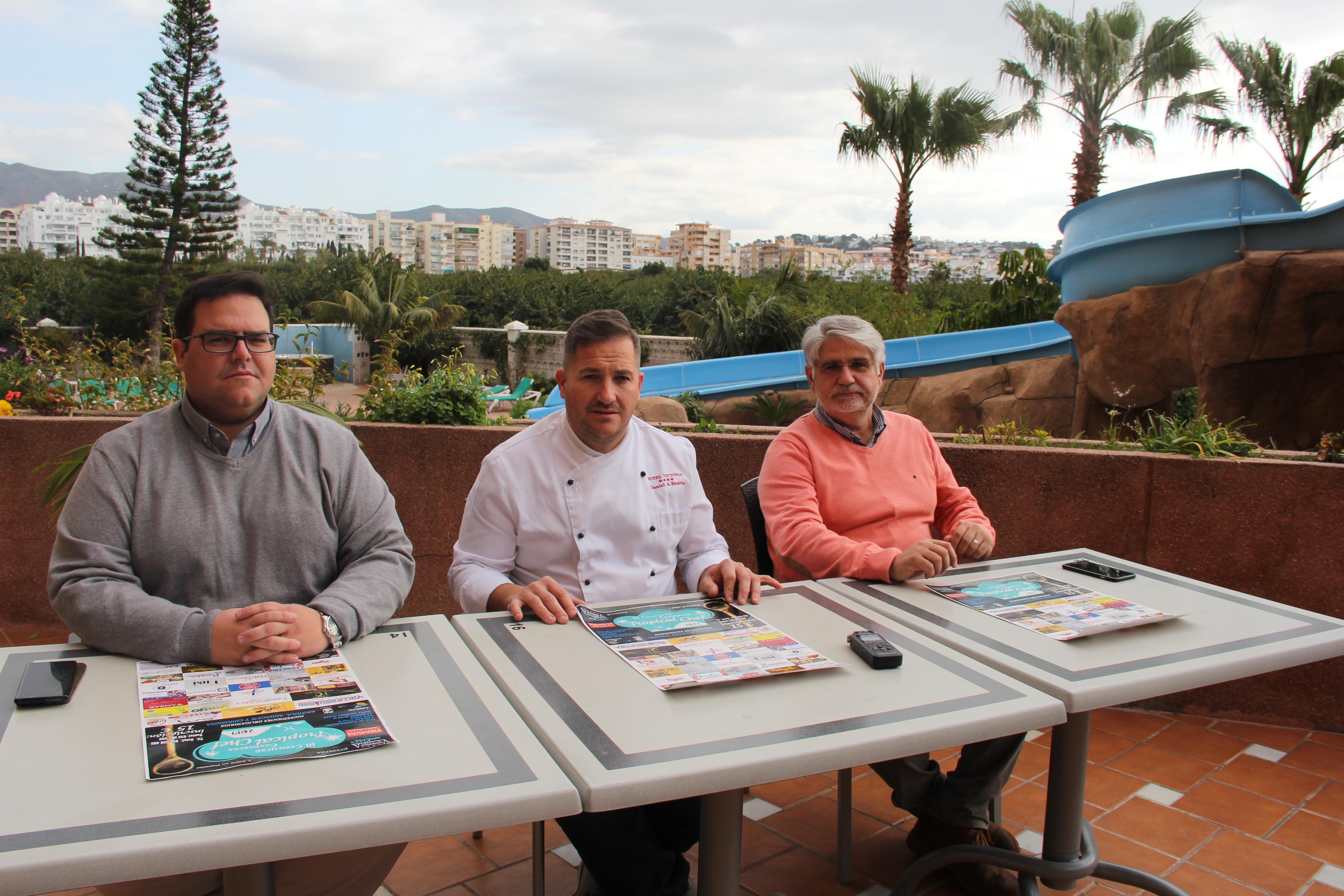 MOMENTO DE LA PRESENTACIÓN DEL CONCURSO EN ALMUÑÉCAR
