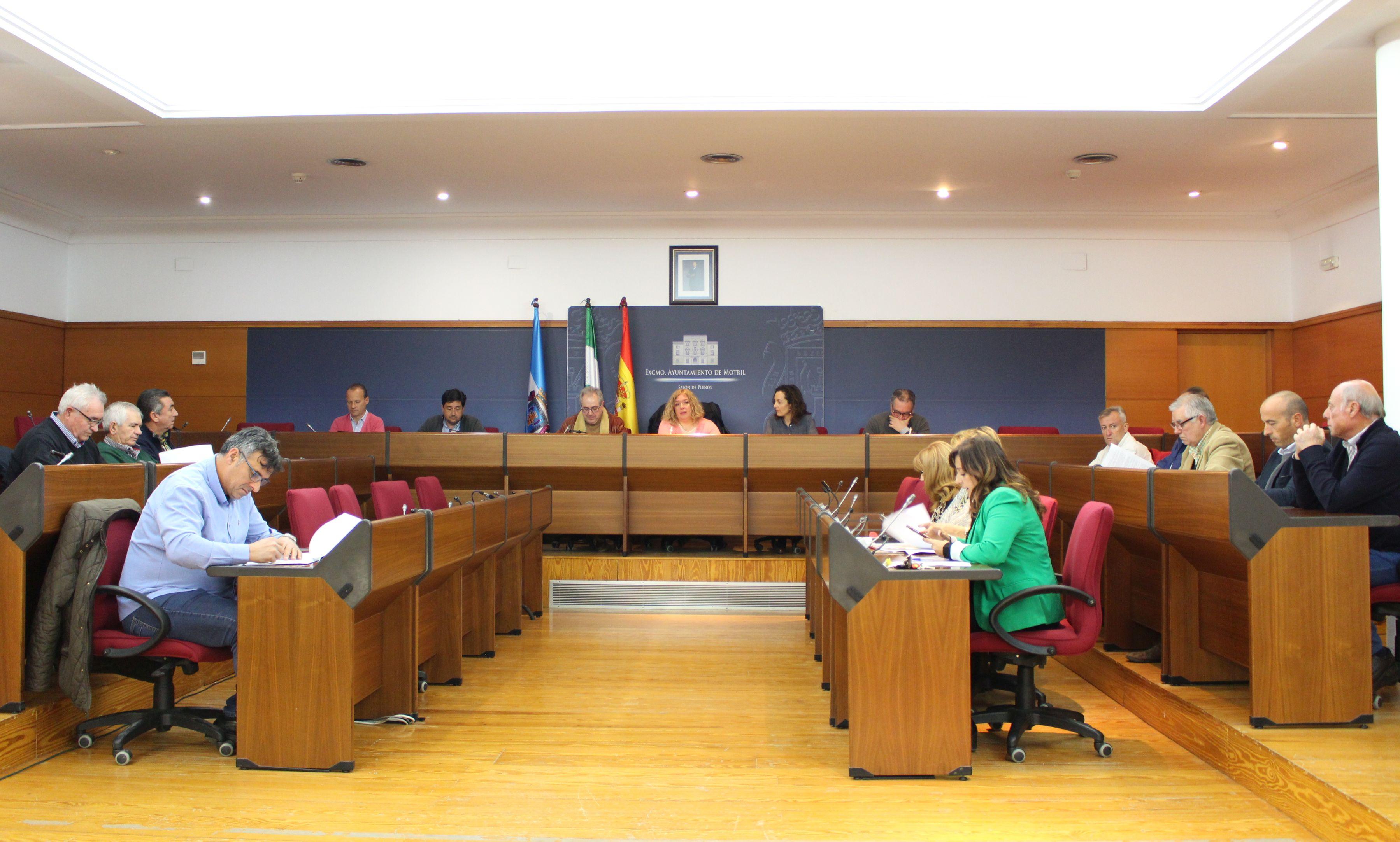 Momento del Consejo Municipal Agrario