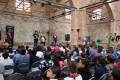 Bienvenida a los espectadores del Festival de Títeres