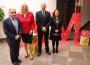 El delegado de Educación, la alcaldesa de Motril, el director de la Escuela de Artes y la directora general de ordenación educativa