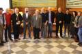 Foto de familia de la alcaldesa de Motril con el jurado del VIII Certamen de Pintura Ramón Portillo