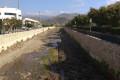 Maquinaria limpiando Río Verde