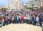 Representantes del equipo de Gobierno Ayto Motril con el presidente de Diputación, presidente Cdad Gral Regantes Bajo Guadalfeo y alcaldes de la Comarca