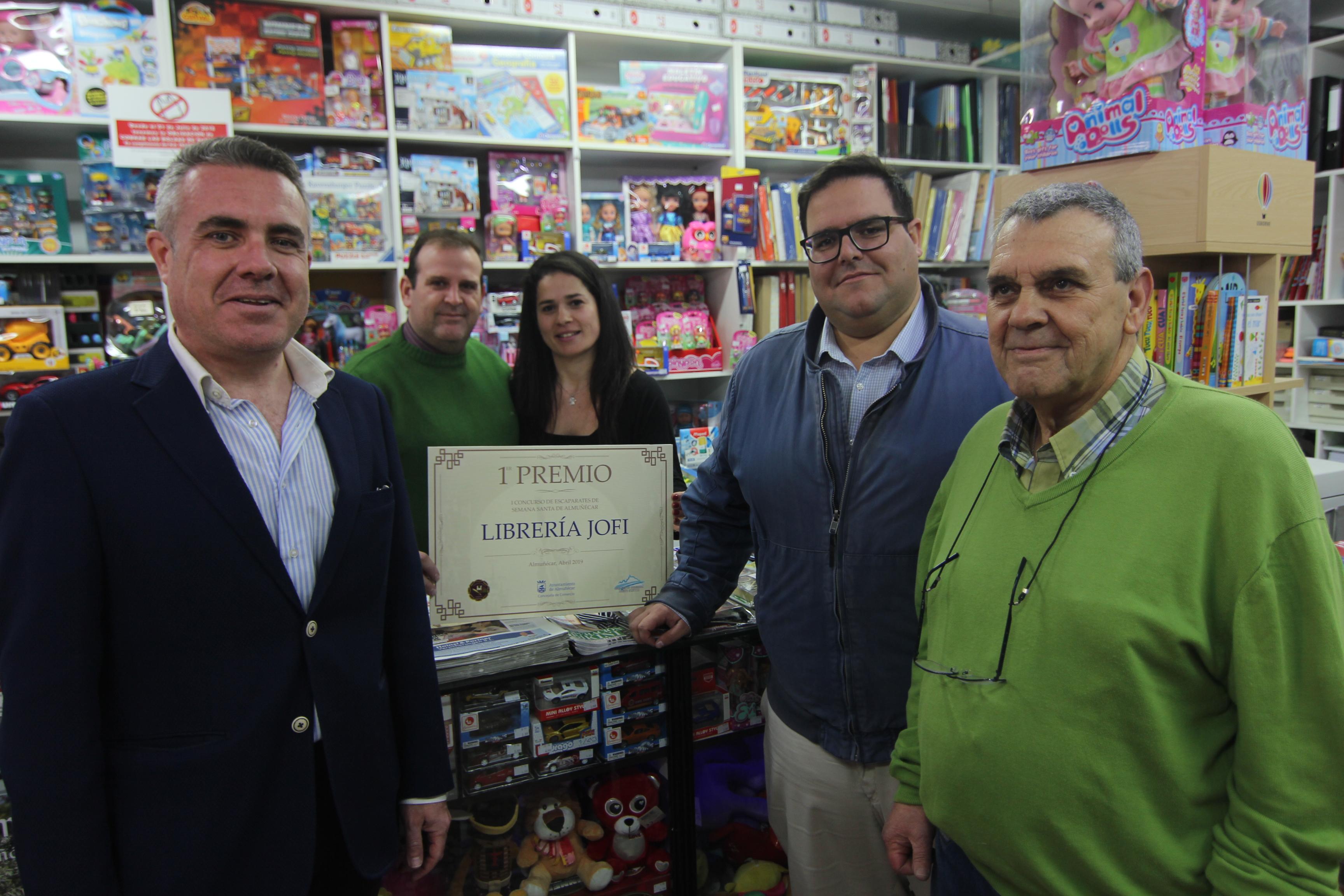 ENTREGA DEL PRIMER PREMIO A LIBREO JOFI EN ALMUÑÉCAR