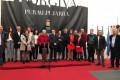 MOMENTO DE LA INAUGURACIÓN DE LA FERIA ARTESANAL 'HECHO EN LA ALPUJARRA'