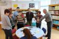 Presentación en la Biblioteca Municipal del programa de Aprosmo Bibliotecas para Todos