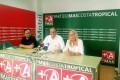 MÁS COSTA TROPICAL, (de izqda-dcha), MIGUEL ÁNGEL MUÑOZ, ANTONIO ESCÁMEZ Y MARÍA ÁNGELES ESCÁMEZ