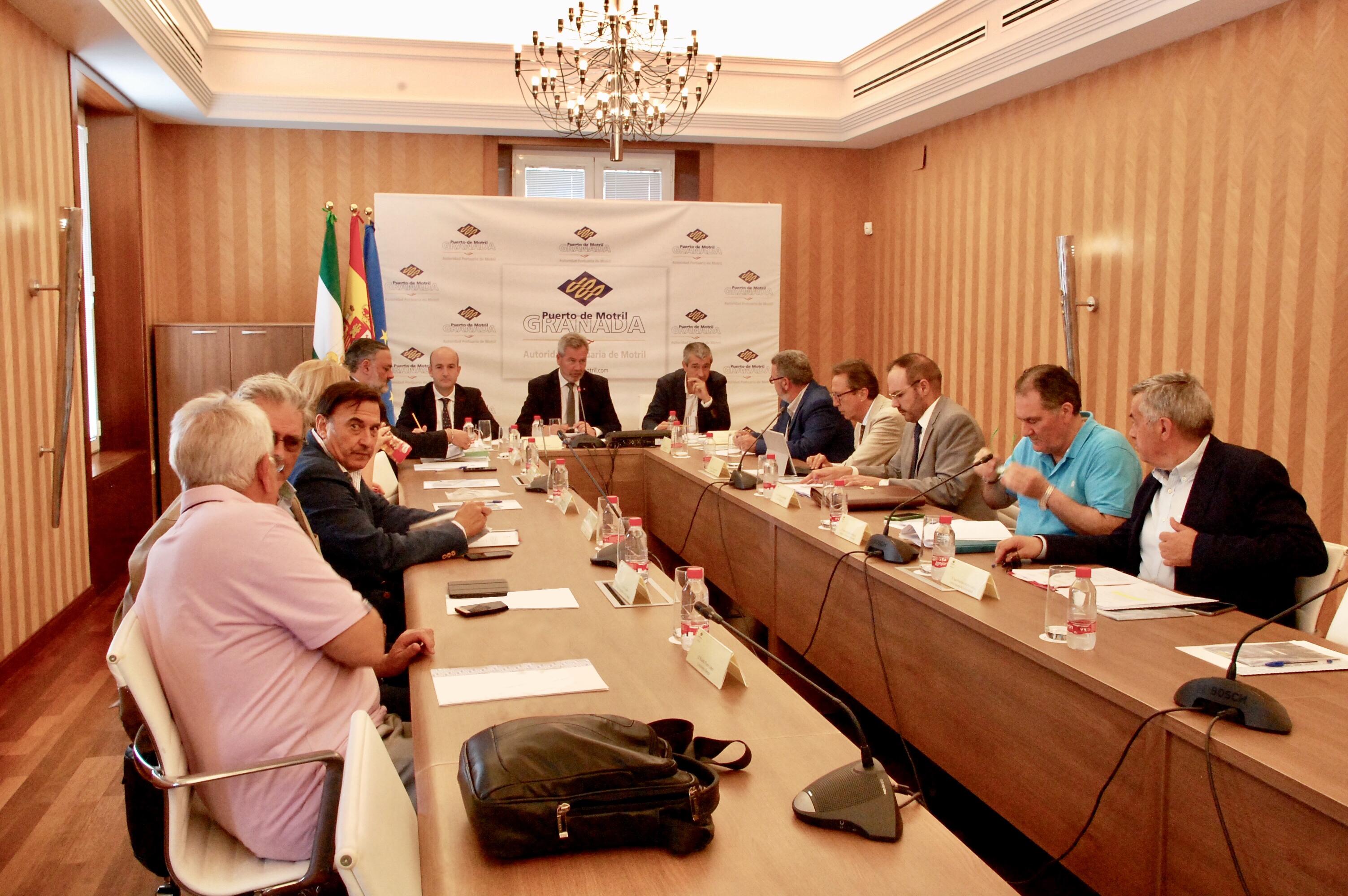 Reunión del consejo de administración
