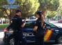 AGENTES DE LA POLICÍA NACIONAL EN LABORES DE VIGILANCIA Y PREVENCIÓN
